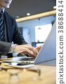 ที่อยู่ฟรีภาพมือนักธุรกิจสำนักงานที่ใช้ร่วมกัน 38688414
