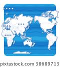 แผนที่โลก,แผนที่,อเมริกา 38689713