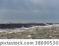 Man at Zuid Pier Storm 38690530