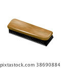 Clothes Brush Isolated 38690884