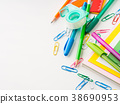Stationery colorful school writing accessories 38690953