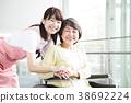 개호 노인 여성 병원 도우미 간병인 38692224