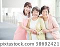 개호 노인 여성 병원 도우미 간병인 38692421