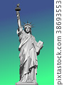 vector illustration of statue of liberty 38693553