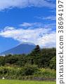 절경 풍경 (야마나시 현, 꽃의 도시, 여름) 38694197