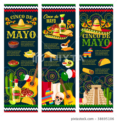 Cinco de mayo mexican festival greeting banner stock illustration cinco de mayo mexican festival greeting banner m4hsunfo