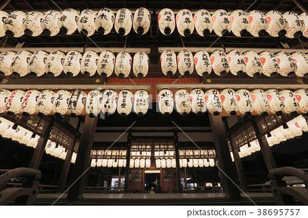 Yasaka shrine inner temple in Kyoto, Japan 38695757