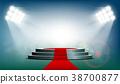 red, carpet, podium 38700877