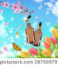 cosmetic, bottle, vector 38700979