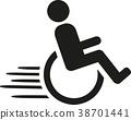 輪椅 殘疾 ICON 38701441