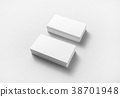 Blank business cards 38701948