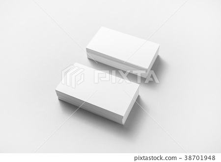 Blank business cards stock photo 38701948 pixta blank business cards colourmoves