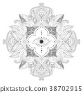 eye mandala design 38702915