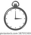 矢量 掛錶 鐘錶 38705369