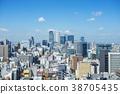 Nagoya city landscape 38705435