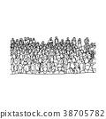벡터, 사람들, 회의 38705782