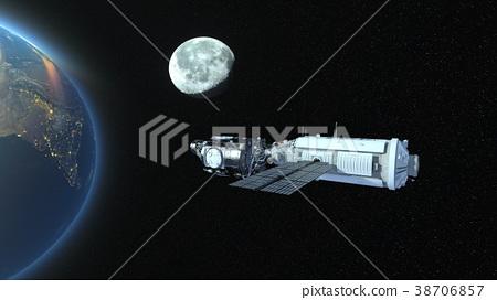 人造卫星 空间 宇宙的 38706857