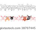 หมู,สัตว์,ภาพวาดมือ สัตว์ 38707445