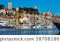 Picture of port of Cannes old city at the French Riviera 38708186