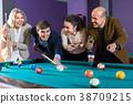 people having pool game 38709215