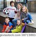 Portrait of junior school kids 38713683