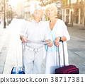 suitcases, sights, travel 38717381