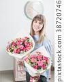 eustoma female lady 38720746
