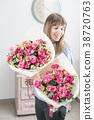 eustoma female lady 38720763