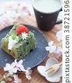 케이크, 케익, 양과자 38721596