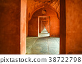Beautiful view of hallway at Taj Mahal in India 38722798