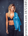 young, sexy, denim 38723885