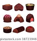 巧克力 形狀 收藏 38723946