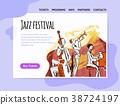 jazz music quartet 38724197