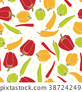 vegetable vector seamless 38724249