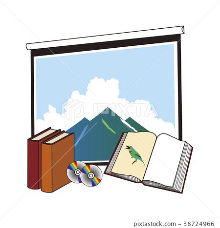 閱讀屏幕,書籍和DVD 38724966