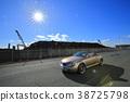 敞篷车 可兑换 汽车 38725798