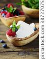 ricotta, cheese, curd 38727075