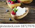Italian traditional cottage cheese ricotta 38727076