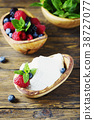 Italian traditional cottage cheese ricotta 38727077