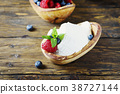 Italian traditional cottage cheese ricotta 38727144