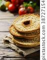 Traditional italian bread frisella  38727154