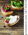 Italian traditional cottage cheese ricotta 38730259