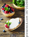 Italian traditional cottage cheese ricotta 38730260