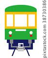 enoden, enoshima electric railway, electric train 38730386