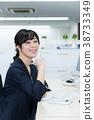 여성 비즈니스 이미지 38733349