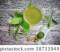 Tea .Gumnema inodorum (Lour.) Decne. 38733949