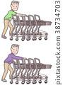 高级收集购物车 38734703