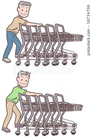 短袖高级检索购物车 38734706