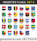 All flags of the world set 4 .  38735039
