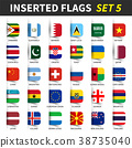 All flags of the world set 5 .  38735040